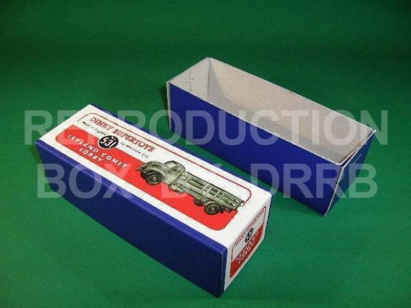 Dinky #531 (931) Leyland Comet Lorry - Reproduction Box